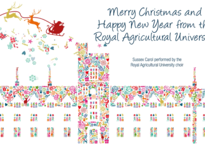 Royal Agricultural University Christmas Animated ECard